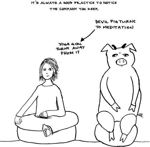 Of Meditation Is The Gateway To WHAT Now?